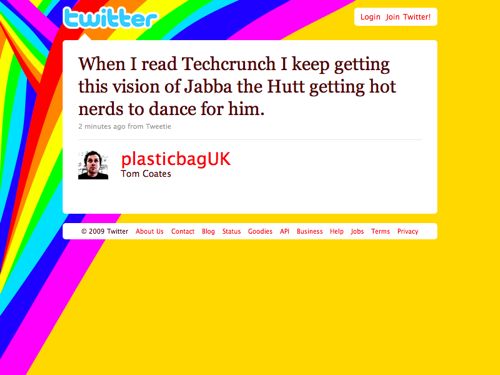Twitter - Tom Coates- When I read Techcrunch I k ... (20091124)