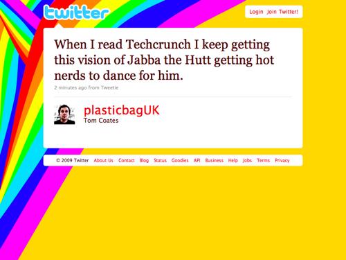 Twitter - Tom Coates- When I read Techcrunch I k ... (20091124)